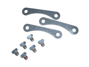 Garrett Hardware set, 3 clamps and 6 bolts for compressor housing to backplate