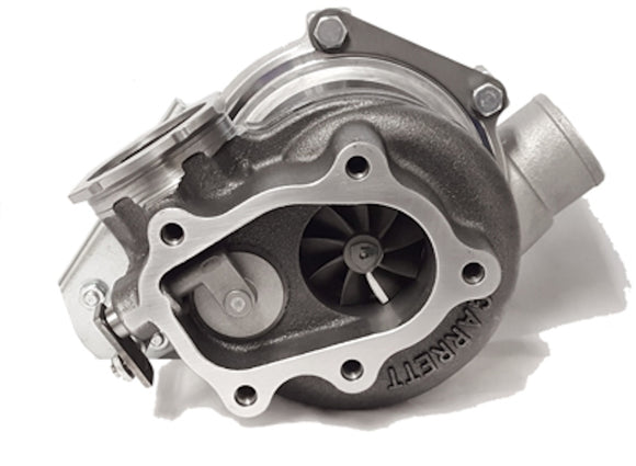 Garrett GT2860RS Turbo with .86 A/R Int W/G VB25 Entry Garrett Turbine Housing w/14 psi actuator