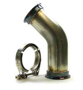 V-Band Pipe 45 degree