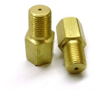 "Oil Inlet Restrictor .065"" hole size 1/8"" NPT (for Journal bearing and larger GT BB)"