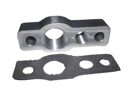 Oil inlet/outlet flange kit for GT12 (aka GT1241) (and GT06)