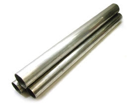 "(SS) Steel Straight Pipe 2 feet length stainless tubing - 2.25"" OD"