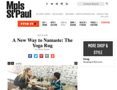 MplsStPaul Magazine - A New Way to Namaste