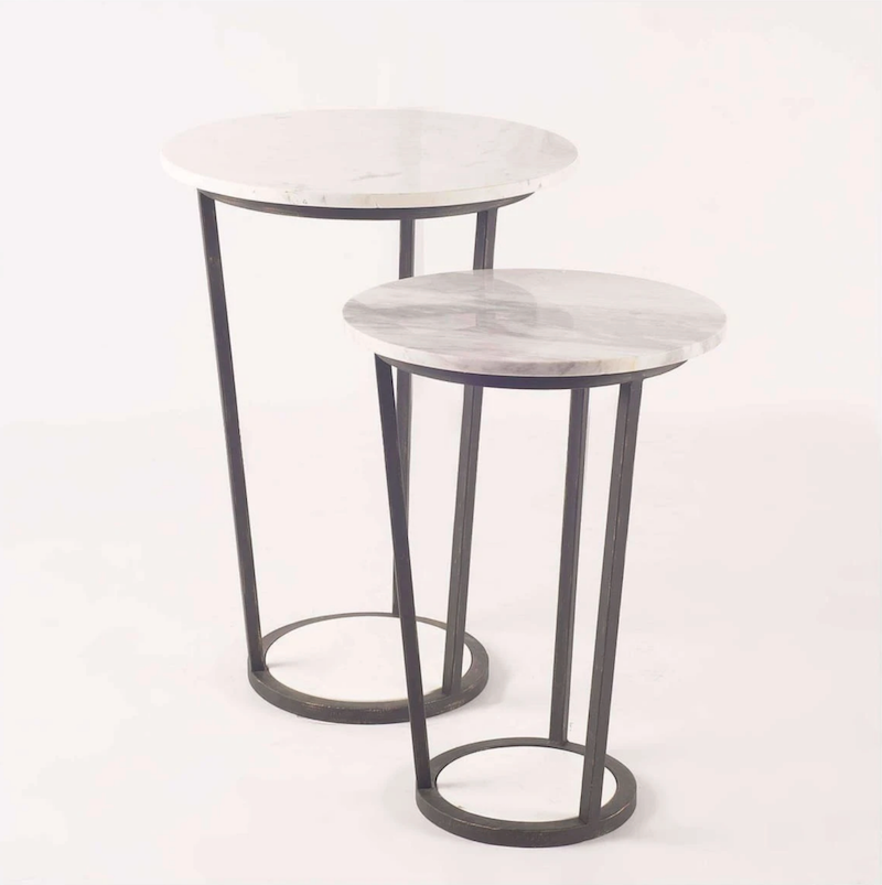 Bombola I end table