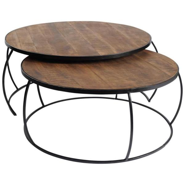 Clapp I (set of 2) coffee tables