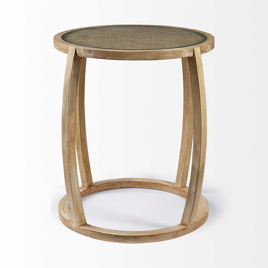 Hubbard I end table
