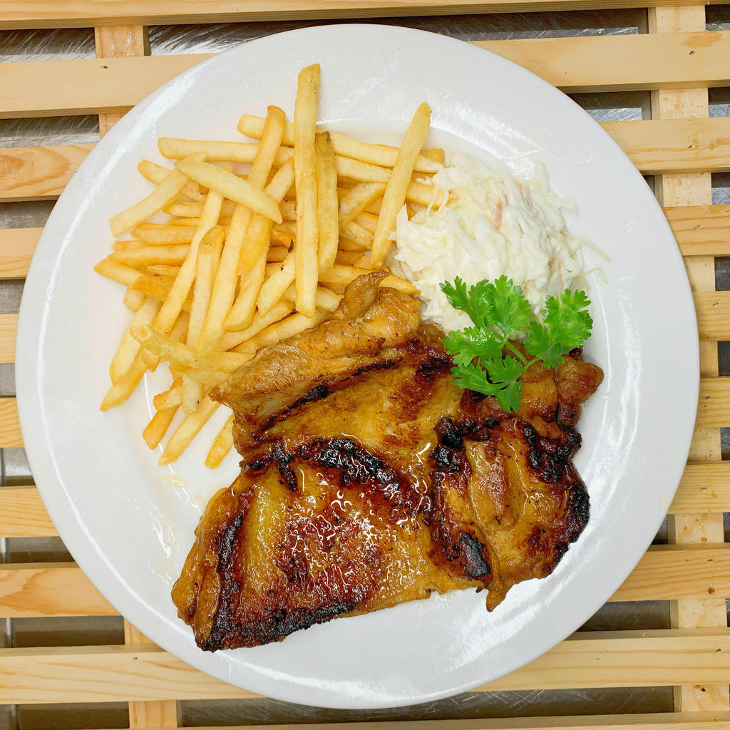 Grilled Hot and Spicy Chicken Chop