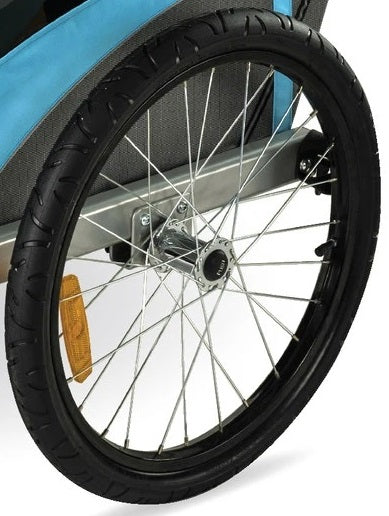 "20"" Deluxe Trailer Rear Wheel with Push Button"