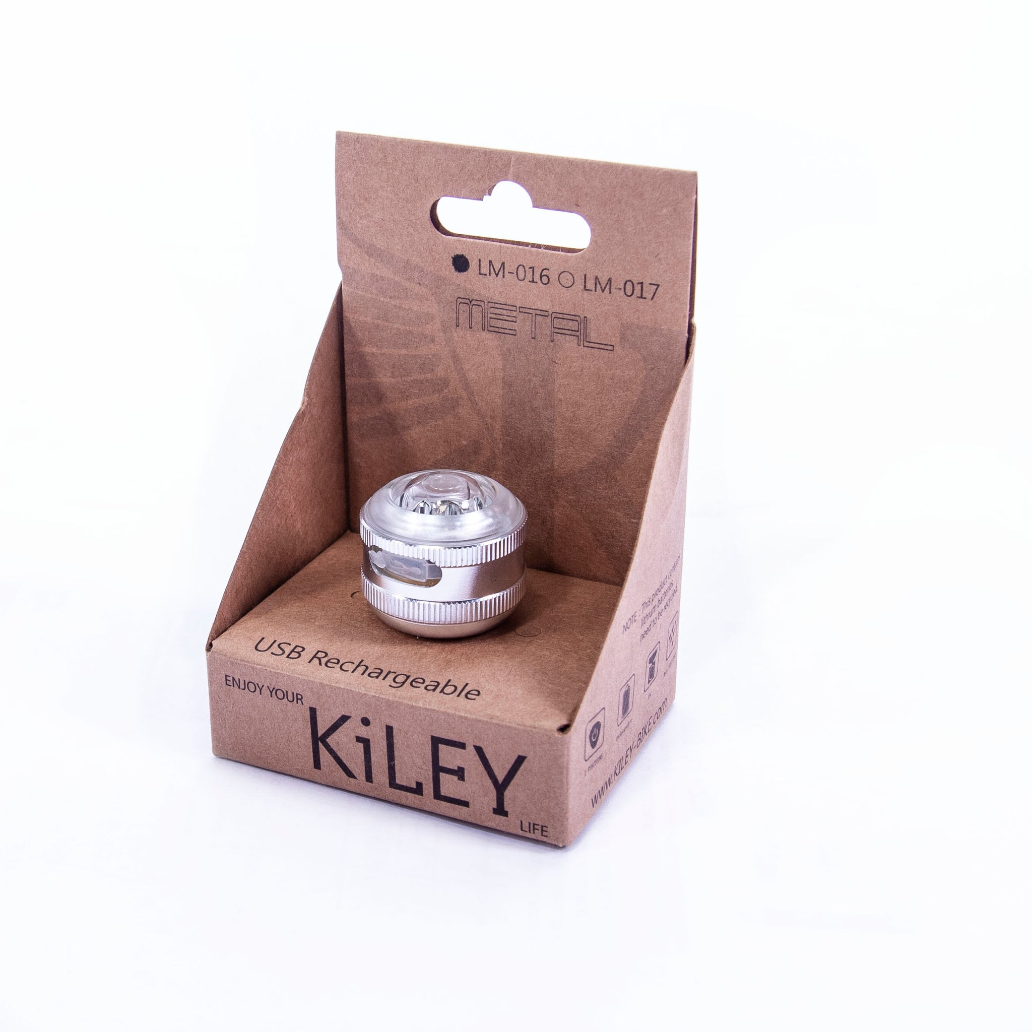 KiLEY Front USB Rechargeable Bicycle Light