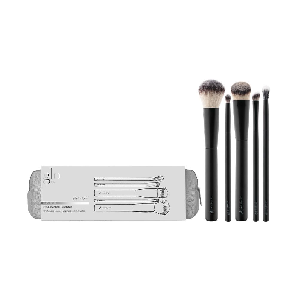 Glo Skin Beauty / Limited Edition PRO Essentials Brush Set **64% Savings!