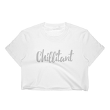 Chillitant - Women's Crop Tee - Apparel, planetlucid - Planet Lucid,  - accessories