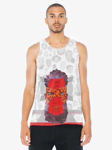Present Future Past - Unisex Tank Top - Apparel, planetlucid - Planet Lucid,  - accessories