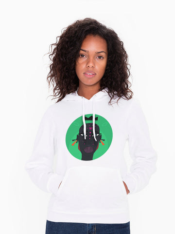 Inner View -  Unisex Hoodie - Enigmatic Royalty - Agent #004