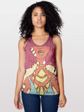 Symmetry - Women's Racerback Tank - Apparel, planetlucid - Planet Lucid,  - accessories