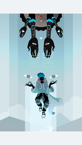 Deities At Sundown - Poster 04 - Levitate - Apparel, planetlucid - Planet Lucid,  - accessories