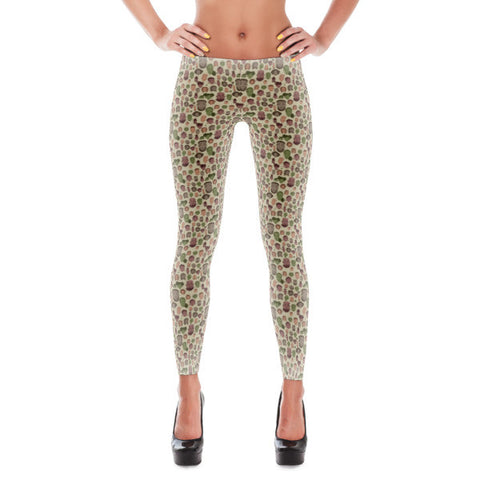 Leggings - Brooklyn Faces - Apparel, planetlucid - Planet Lucid,  - accessories