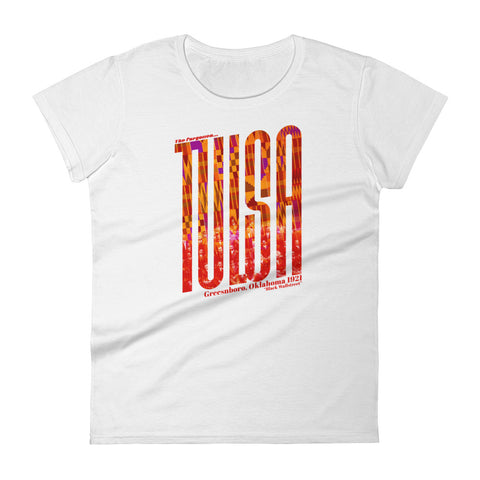 Tulsa | Oklahoma - Women's short sleeve t-shirt - Apparel, planetlucid - Planet Lucid,  - accessories
