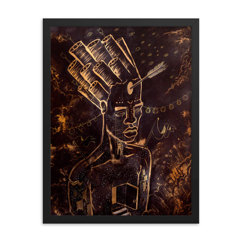 Indoctrinate - Framed poster - Apparel, planetlucid - Planet Lucid,  - accessories