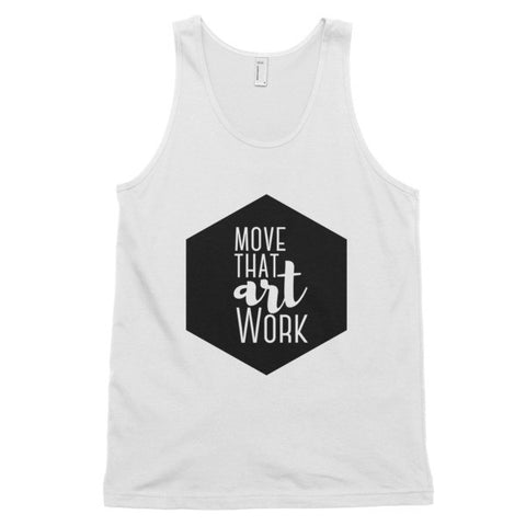Move That ArtWork - Classic tank top (unisex) - Apparel, planetlucid - Planet Lucid,  - accessories