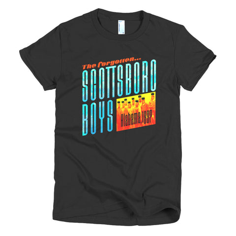 The Scottsboro Boys - Short Sleeve Women's t-shirt - Apparel, planetlucid - Planet Lucid,  - accessories