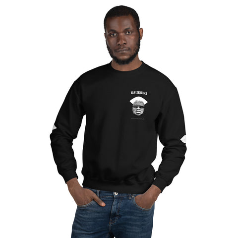 Van Sertima - Pivotal Author - Unisex Sweatshirt - Apparel, planetlucid - Planet Lucid,  - accessories