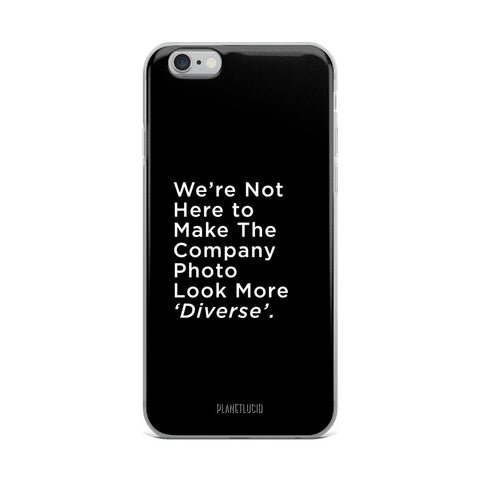 iPhone Case - 'Diversity' - Apparel, planetlucid - Planet Lucid,  - accessories