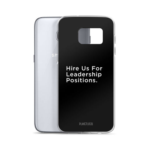Samsung Case - Leadership - Apparel, planetlucid - Planet Lucid,  - accessories