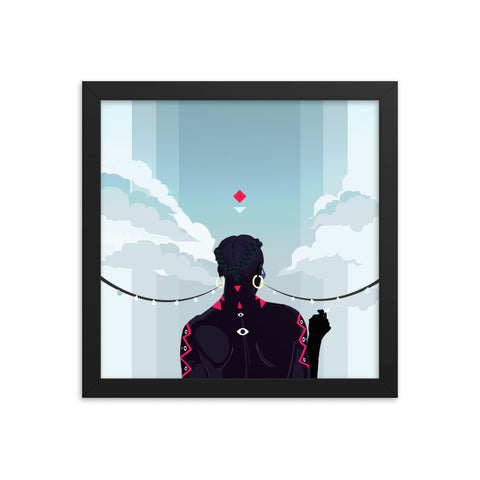 FLSW - Framed poster - Apparel, planetlucid - Planet Lucid,  - accessories