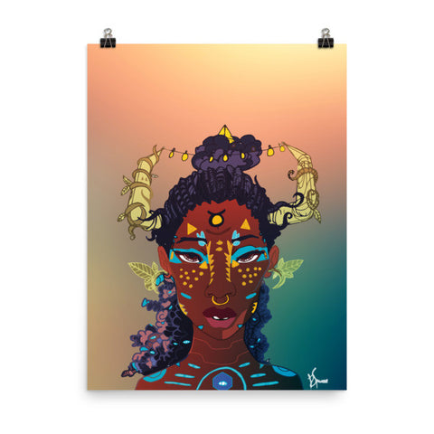 Zodiac Poster - Taurus - 18x24 - Apparel, planetlucid - Planet Lucid, Poster - accessories