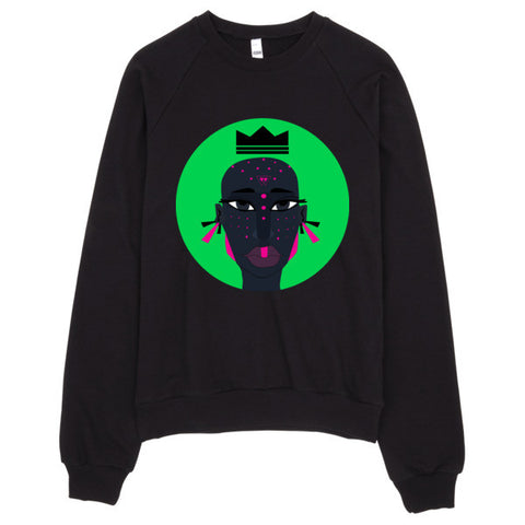 Inner View - Enigmatic Royalty - Raglan Sweater - Apparel, planetlucid - Planet Lucid,  - accessories