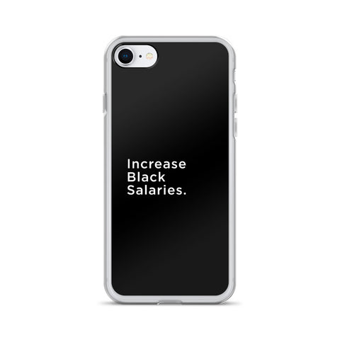 iPhone Case - Increase Black Salaries - Apparel, planetlucid - Planet Lucid,  - accessories