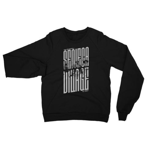 Seneca Village - Unisex Raglan sweater - Faces