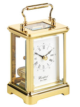 Load image into Gallery viewer, Obis Solid Brass Ticking Quartz Carriage Clock