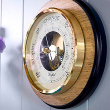 Load image into Gallery viewer, Modern Round Aneroid Barometer 7 inches