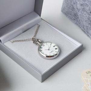 Stylish Necklace Watch with Chain in Padded Gift Box.