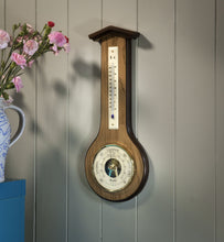Load image into Gallery viewer, Modern Banjo Barometer with Thermometer