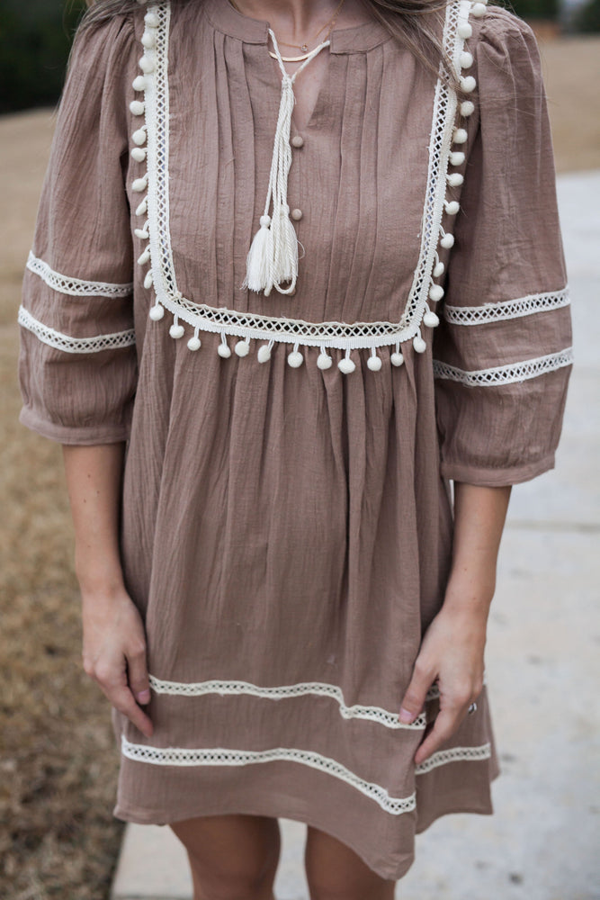 SOPHIE PEASANT DRESS