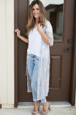 Laylah Lace Duster