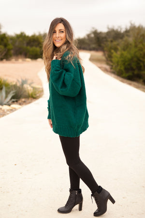 NOEL SWEATER - EMERALD