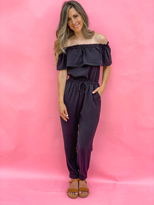 SADIE OFF-SHOULDER JUMPSUIT