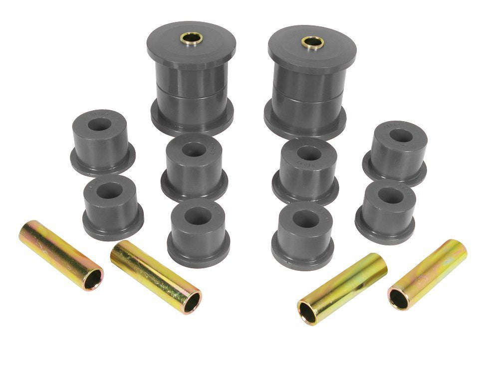 Prothane Jeep Cherokee Rear Spring Eye & Shackle Bushing Kit (84-01) - 1-1007