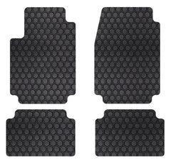 Lexus ES 330 (04-06) Intro-Tech Hexomat Front and Second Row Custom Floor Mats - LX-607-RT