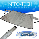 Audi A4 Sedan/Wagon Avant (09-16) Intro-Tech Custom Auto Snow Shade Windshield Cover - AU-34-S