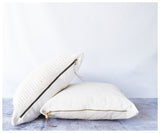 Carmen Floor Pillow- Crocheted Front-pillow-celina mancurti