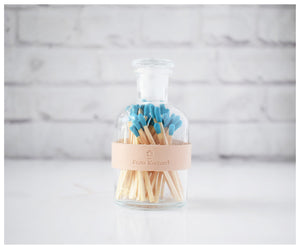 Colored Matches - Blue Tip