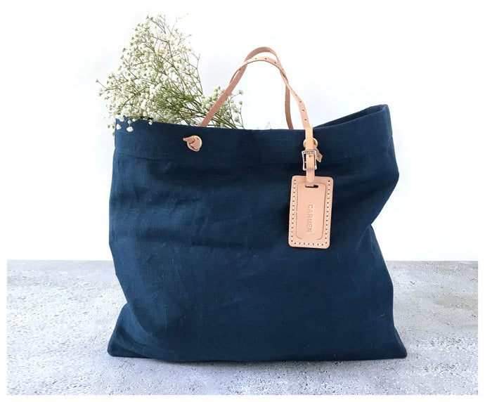 Everyday Linen Tote-bag-celina mancurti