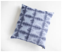 Floor Pillow - Shibori blue-pillow-celina mancurti