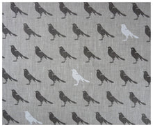 Gray Bird Linen- Fat quarter-fabric-celina mancurti
