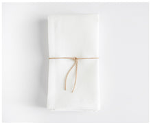 Heirloom Napkins - White Linen-napkins-celina mancurti