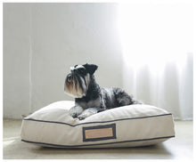 Pet Pillow- Monogrammed-pet pillow-celina mancurti